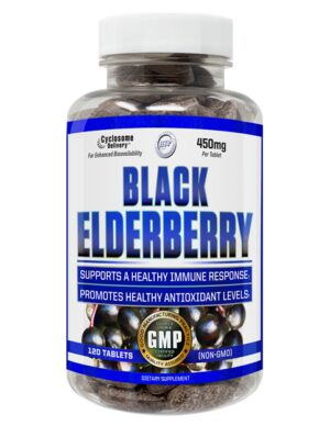 HTP BLACK ELDERBERRY 120T