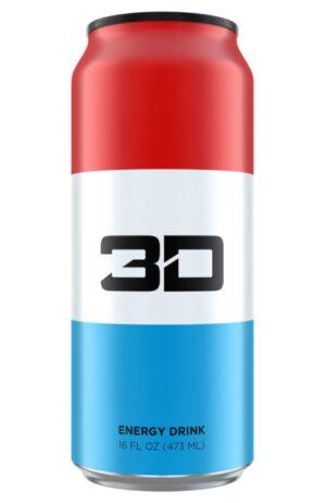 3D ENERGY DRINK 12/16OZ