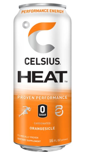 CELSIUS HEAT RTD 12/16OZ